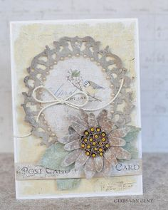 Crafting ideas from Sizzix UK: Everyday Card by Gerry van Gent .