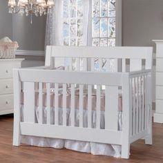Pali Emilia Crib in White