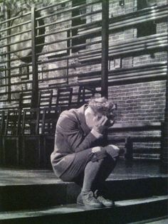 Spring Awakening - Moritz. Just his posture makes me want to cry :(