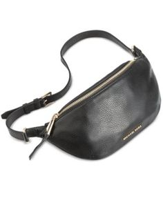 8a37aadeaa2d MICHAEL KORS Michael Michael Kors Rhea Zip Belt Bag.  michaelkors  bags   leather  belt bags  lining