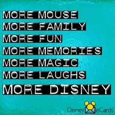 More Disney, please!