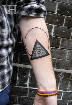 Valentin Hirsch. I'm really digging these simple circle tattoos lately.  ---Need extra cash? Click here:  http://www.earnyouronlineincomefast.com