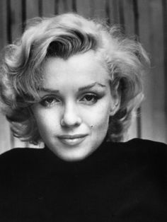 Portrait of Actress Marilyn Monroe