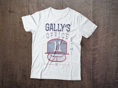 GALLY'S OFFICE Hockey Montreal Tshirt available at NorthLegends.ca