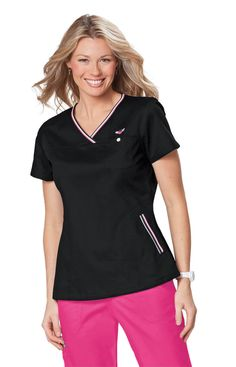 Description Sporty crossover v-neck with winged heart embroidery. Easy-fit pullover styling Chest pocket Two side pockets Elastic inset at back Length size Small: cotton polyester soft twill Koi Size Chart Size Range XXS XS S M L XL Size Comparison Stylish Scrubs, Black Scrubs, Koi Scrubs, Medical Scrubs, Scrub Tops, Black Tops, V Neck, Pullover, Cotton