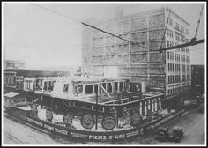 Construction of the Pizitz Building in 1925
