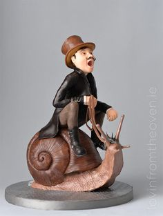 Snail Rider - Steam Cakes - A Steampunk collaboration by Lovin' From The Oven