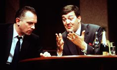 """Rik Mayall and Stephen Fry in """"Cell mates"""""""