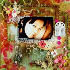 Project using the FABULOUS January kit, Whimsy. Created by Irene Tan. swirlydoos.com