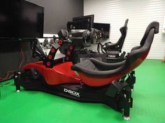 RS Formula V2 Sim Racing Cockpit w/D-Box Setup!  if you're into F1 sim racing, then it doesn't get any better than this realistic layout from RSeat!