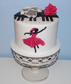 ... pre milovníčku tanca a hudby ..., Inšpirácie na originálne torty Torty pre dievčatá