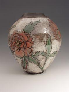 105 Best raku images | Raku pottery, Ceramic Art, Ceramic clay Gl Vase Joann on