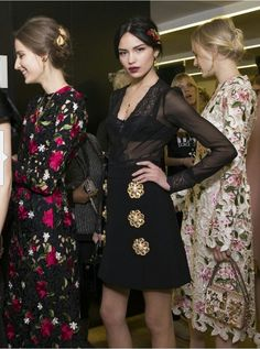 b9204d1d39 2015 Dolce Gabbana collection Fashion Week 2015