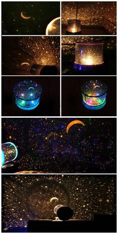Multi Colors Starry Star Master Gift Led Unique Design Projector Night Light                                                                                                                                                                                 More