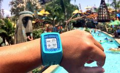 Image result for wearable rfid amusement park entry
