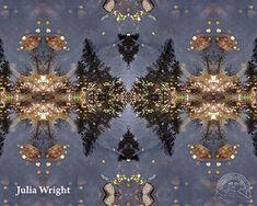 """Mushrooms Aspen Pond"" digital art by Julia Wright Manitou Springs, Aspen, Mushrooms, Pond, Digital Art, Christmas Tree, Artists, Holiday Decor, Wall"