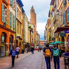 Les couleurs de Toulouse... pas complètement rose finalement!