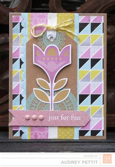 Audrey Pettit: Just For Fun Basic Grey, Just For Fun, Scrapbook Pages, Eye Candy, Paper Crafts, Frame, Layouts, Projects, Blog