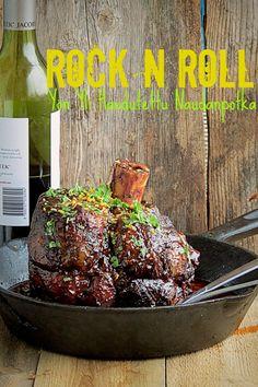 Onko nälkä? Rock N Roll, Rolls, Appetizers, Beef, Food, Meat, Rock Roll, Buns, Appetizer
