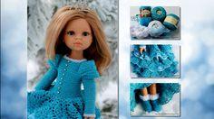 Одежда для кукол крючком: Парад Моделей по МК Снегурочка от Оксаны Лифенко
