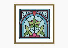 Cross Stitch Pattern, Modern Cross Stitch, NOUVEAU # 3 cross stitch pattern - Downloadable PDF