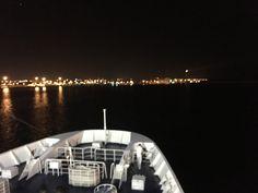 Leaving Bari,Italy, heading Dubrovnik, Croatia