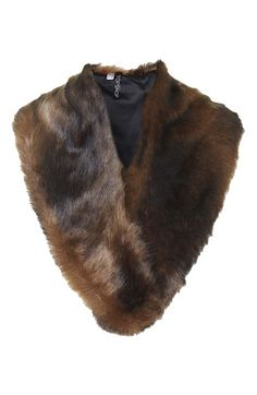 Faux Fur Stole - perfect to layer on top of your winter coat!