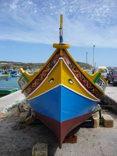 Typical Maltese boats - Tourism Marketing Concepts