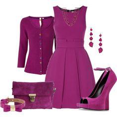 """Purple"" by krystalbay on Polyvore"