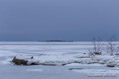 Frozen sea. - Clickasnap
