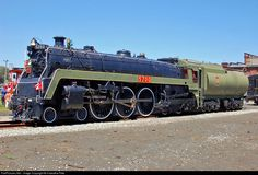RailPictures.Net Photo: CN 5700 Canadian National Railway Steam 4-6-4 at St. Thomas, Ontario, Canada by Hiawatha Pete