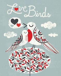 Love Birds by Michael Mullan