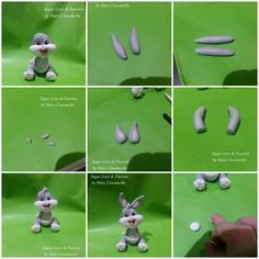 Hi,to all !! Here is my latest tutorial to make a Baby Bugs Bunny .. Hope you enjoy it and that you find it useful! xxx Mary <3. https://www.facebook.com/SugarLoveAndPassion