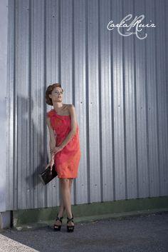 Vestido de Cocktail de Carla Ruiz 2012 - Modelo 86067