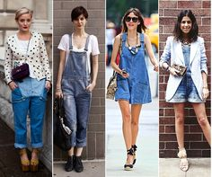 alexa chung overalls street style