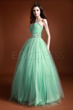 Luxurious Beading Sweetheart Luba's Ball Gown/Prom Dress.