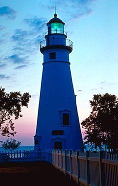 Marblehead Light, Bay Point, Ohio, USA