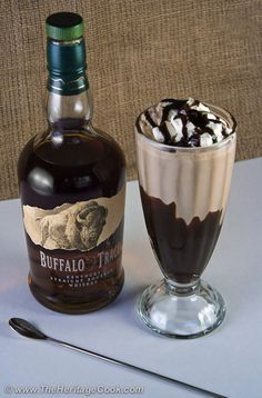 Double Chocolate Bourbon Milkshakes at The Heritage Cook for Chocolate Monday!