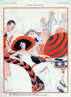 Vald'Es (Valvérane & D'Espagnat). La Vie Parisienne, 1923. [Pinned 8-ii-2015]