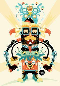 Illustration 101 by Armelle Garcia, via Behance