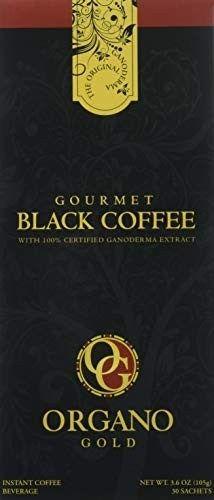 1 Box of Organo Gold Ganoderma Gourmet – Black Coffee sachets) Organo Mushroom Grow Kit, Fair Trade Coffee, Growing Mushrooms, Coffee Benefits, Instant Coffee, Black Coffee, Latte, Stuffed Mushrooms, Sachets