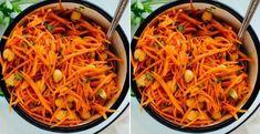 Kórejská mrkva - Receptik.sk Smoothie, Vegetables, Ethnic Recipes, Food, Vegetable Recipes, Eten, Smoothies, Veggie Food, Meals
