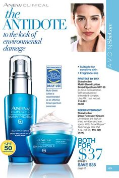 #Avon #AnewClinical #Skinvincible Protect yor Skin from enviromental damage - www.youravon.com/gkuper