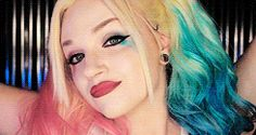 Glam and Gore! She has to be my favorite and her Harley Quinn makeup for Suicide Squad it on point!