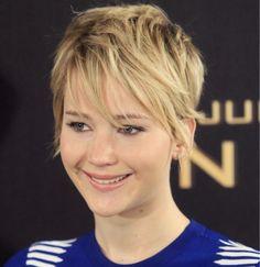 ADEUS RAPUNZEL: Os Cabelos Estão Mais Curtos em 2014  Jennifer Lawrence
