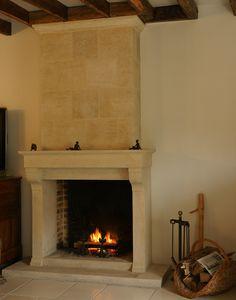 L'atelier de la pierre - artisan tailleur de pierre - nos cheminées en pierre