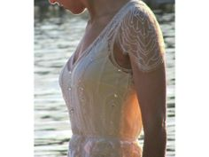 Once worn Jenny Packham Eden Wedding Dress Ivory 10/12