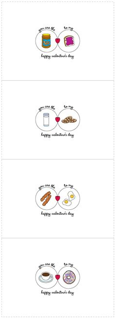 Free Printable Valentine's Day Cards- dad j.