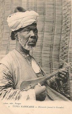 Elder Algero-Moroccan elder berber musician.