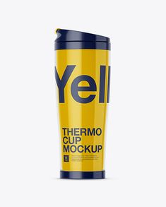 Double-Wall Thermo Cup Mockup (Preview)